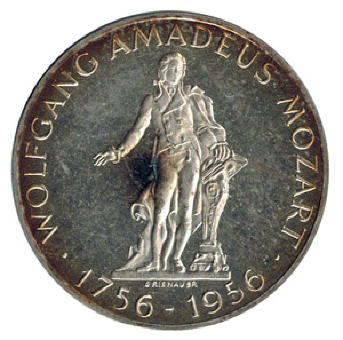 オーストリア 25シリング銀貨